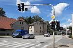 Semafory na křižovatce ulic Masarykova, Ledečská a Svatovojtěšská se dočkají opravy.