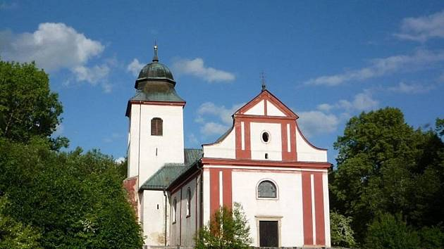 K Hradozámecké noci se připojí i kostel sv. Víta v Zahrádce.