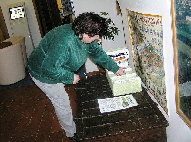 Výměnný systém dělal v semínkovně podle Anny Šauerové zpočátku potíže.