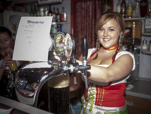 V Chotěboři tradičně nechybí několik pivních speciálů, které vám natočí sympatické barmanky.