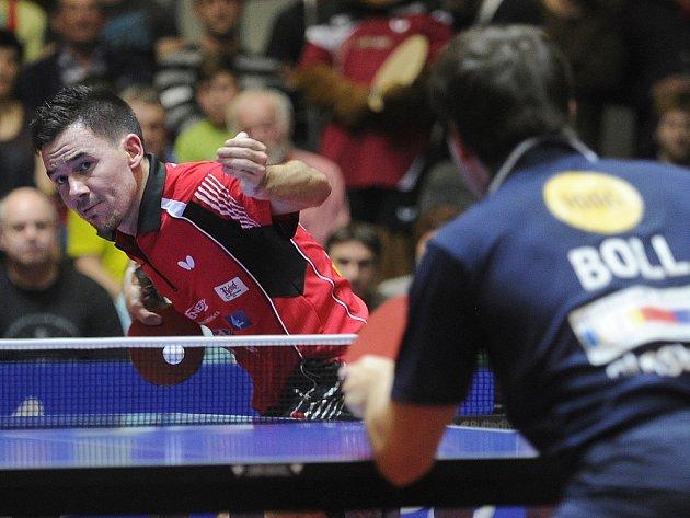 Třetí duel Ligy mistrů s Borussií Düsseldorf zvedal diváky ze sedadel. Zvláště když Tomáš Tregler otočil vývoj zápasu, a připsal si cenný skalp nad Němcem Timo Bollem.