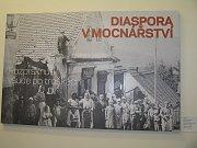 Beseda v muzeu o osudech italských uprchlíků.