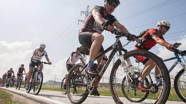 Devátý ročník Cyklotour Na kole dětem. Fotografie z trasy Polná - Havlíčkův Brod.