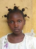 Fina Camara. Dívka z Guineje, kterou adoptovali žáci  přibyslavské školy.