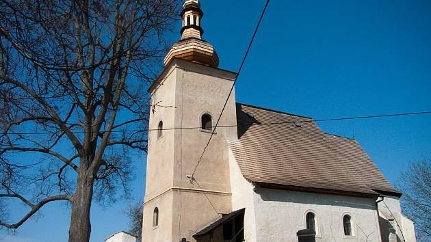 Nové turistické známky s motivem  dvou památných kostelů chtěla nabízet turistům obec Dolní Město.. Jedná se o kostel sv. Martina přímo v obci a kostel sv. Markéty v Loukově.