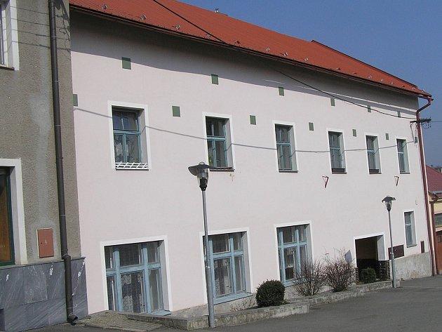 Česká Bělá, kulturní dům.