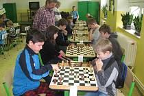 Mladí šachisté na lipnickém turnaji.