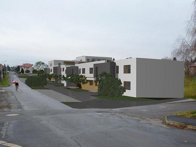 Jedna z variant, jak by startovací byty v lokalitě Koubek mohly vypadat.