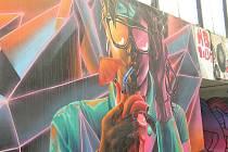 Tak vypadá pouliční umění v Havlíčkově Brodě.