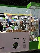 Jeníkovská výrobna rodinného Ekostatku Vlkaneč představila své výrobky na mezinárodním veletrhu Biofach, který se nedávno konal v německém Norimberku.