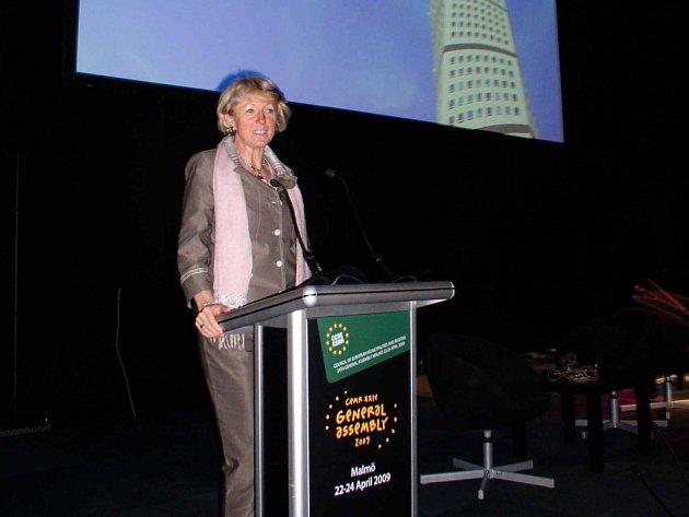 Starostka Fischerová reprezentovala ve Švédsku i Havlíčkův Brod.