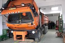 Čtyřicítka zaměstnanců se v ledečském cestmistrovství bude starat o 330 kilometrů silnic II. a III. třídy.