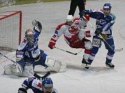 Hokejisté Havlíčkova Brodu drželi s favorizovanou Kometou krok až do 56. minuty. Pak hosté třikrát udeřili a rozhodli.