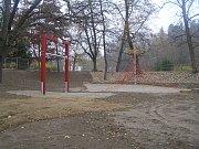 Revitalizace parku Budoucnost v Havlíčkově Brodě.