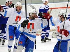 Stíhací jízda hokejistů Světlé nad Sázavou body nepřinesla, Chocni náskok stačil. Ilustrační foto.