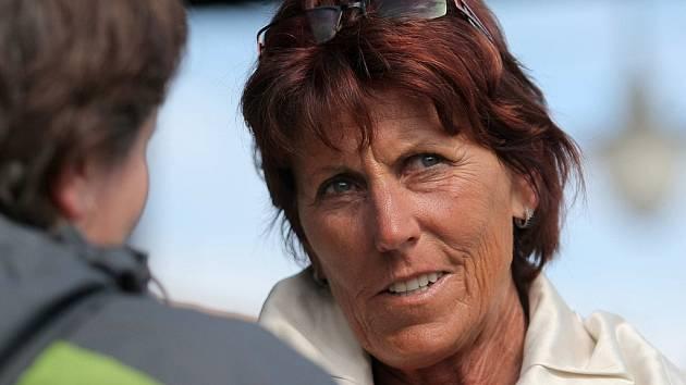 Jarmila Kratochvílová je jednou z hlavních tváří silničního závodu Běh městem Jarmily Kratochvílové.