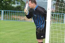 Jaroslav Holcman se už do branky nehrne. Na jaře by měl společně se Stanislavem Dubnem usednout jako trenér na lavičku Havlíčkova Brodu.