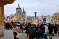 Podzimní trh řemesel v Havlíčkově Brodě.