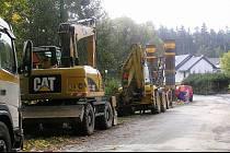 Na silnici u Stříbrných Hor opět vyjedou stavební stroje.