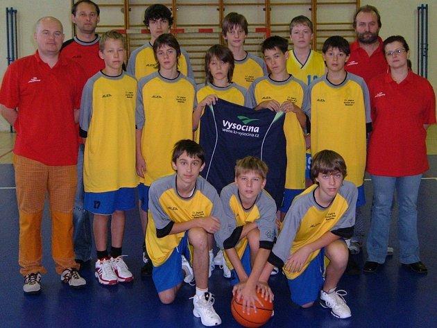Basketbalisté BC Vysočina hrající pod hlavičkou Jiskry Havlíčkův Brod vybojovali postup do ligy U14.