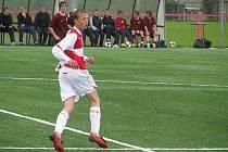 Slávistou už je šestou sezonu brodský odchovanec šestnáctiletý Tomáš Souček (na snímku).