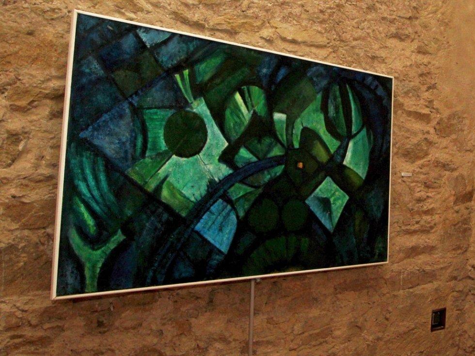 Výstava Saskových pláten skončí na hradě Lipnici koncem září.