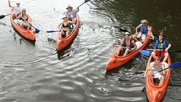 Příště se ledečtí vodáci chtějí po řece Sázavě vydat až do Kácova.