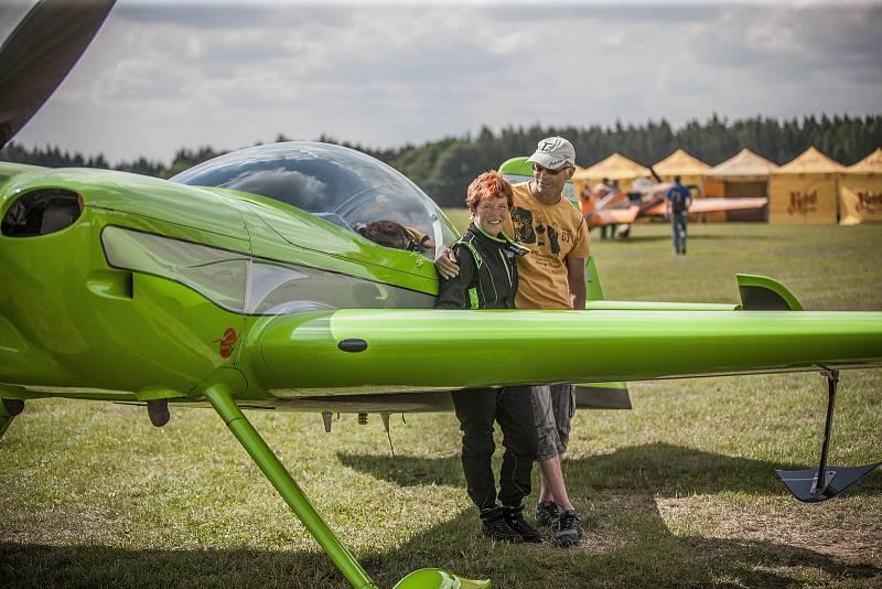 Německá pilotka Kathi Suthau.
