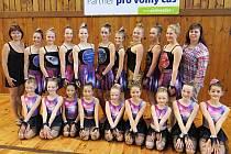 Dívky ze Školního sportovního klubu Základní školy Štáflova opět zabodovaly se svou choreografii Sluneční soustava.