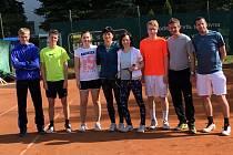 Na druhém místě skončili brodští tenisté ve své premiérové sezoně Východočeského krajského přeboru.