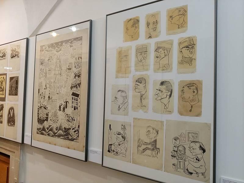 Nová výstava brněnského Moravského zemského muzea představuje rozsáhlou tvorbu spisovatele a ilustrátora Ondřeje Sekory, autora Ferdy Mravence.