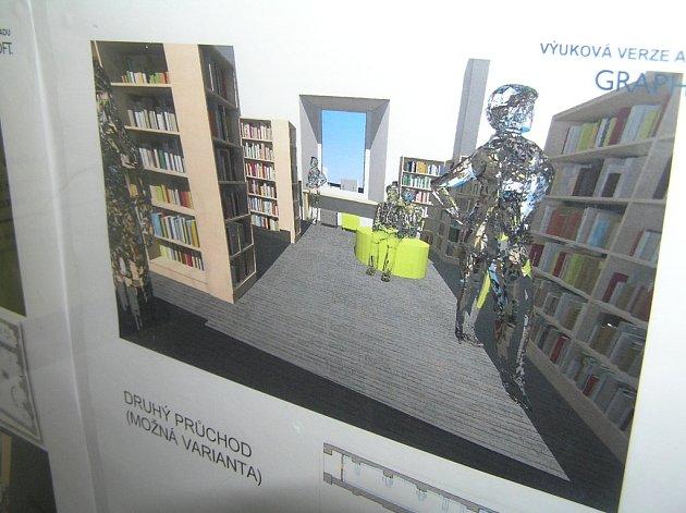 Takto by měla vypadat nová knihovna.