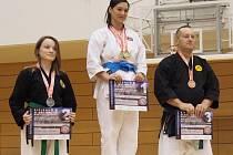 Reprezentanti České federace Okinawa Karate a Kobudo v srpnu vyrazili do Tokia, kde reprezentovali Českou republiku na Světovém šampionátu WOF vOkinawském karate a kobudo. Vtýmu byli karatisté z Havlíčkova Brodu – Miroslav Pecka (37), Zuzana Dlugošová (