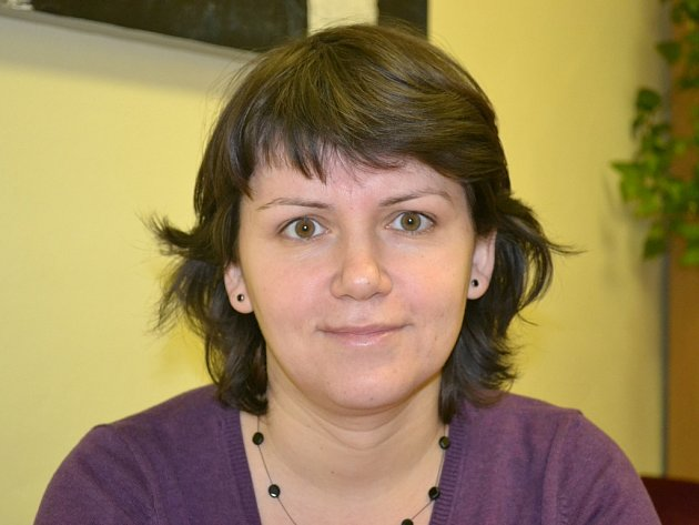 Ředitelka Krajské knihovny Vysočiny Veronika Peslerová.