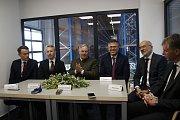 Zleva: Petr Mátl, Iver Ahlmann, Hans-Julius Ahlmann, Jan Císek, Pavel Čížek a Lukáš Lička