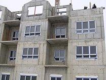 Pečovatelský dům ve Ždírci se začal stavět loni, takto vypadala hrubá stavba, otevřený pro veřejnost bude v lednu 2019.