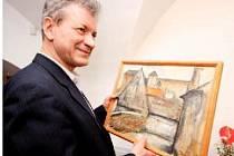 Havlíčkobrodský rodák Josef Saska patří k předním českým výtvarníkům. Výstavní síň v pražském Hollaru k umělcovým šedesátinám připravuje velkou výstavu jeho grafického díla.