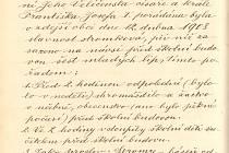 Z obecní kroniky: V roce 1908 byly na návsi v Pohledi zasazeny lípy k 60. výročí panování Františka Josefa.