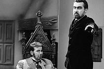V roli hraběte Drákuly Ilja Racek, film se natáčel na Lipnici v roce 1969.