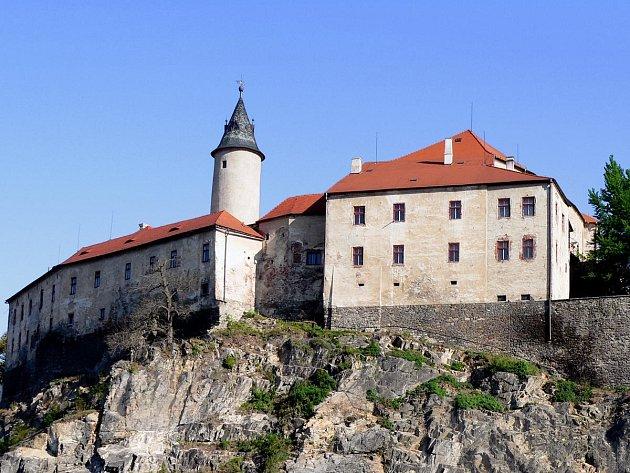 Ledečský hrad.