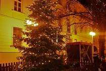 procházka vánočním Humpolcem