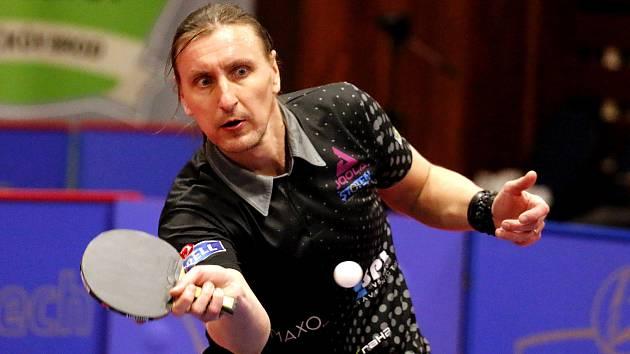 Dmitrij Prokopcov v duelech s Ostravou ani jednou neprohrál. I proto si HB Ostrov užívá postup do finále extraligy.