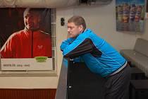 Spokojenost. Tak se dají shrnout pocity trenéra HB Ostrov Bohumila Vožického po extraligovém zápase s Libercem.