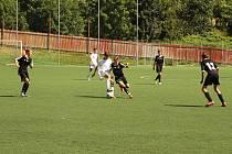 Na Losích se představilo devět českých a také dva slovenské prvoligové celky starších žáků.