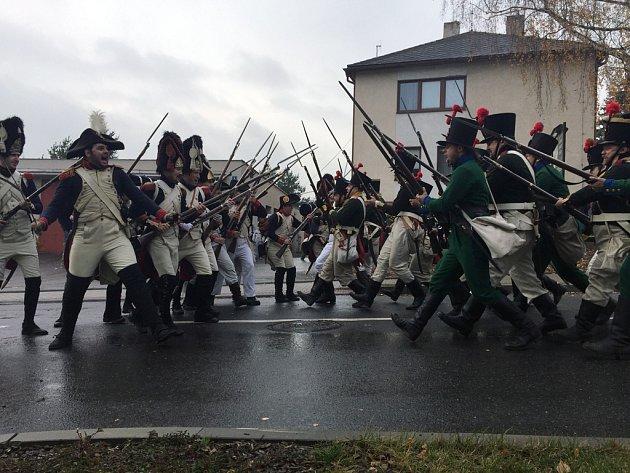 Ve Štokách se odehrála rekonstrukce napoleonské bitvy z roku 1805. Akci pořádala Asociace 8. historického pluku francouzské řadové pěchoty, městys Štoky a město Jihlava.