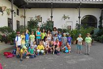 Mateřské centrum Zvoneček  má ve své letní nabídce příměstské tábory, o které je velký zájem. Jeden z nich uskutečnil v červenci a druhý v srpnu.