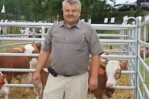 Farmář. Petr Zgarba se chce zasadit také o legislativní podporu regionální zemědělské a potravinářské výroby.