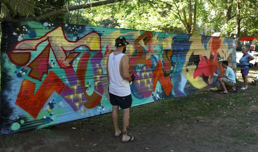 Urban Art Festival v Havlíčkově Brodě.
