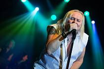 Koncert legendární rockové skupiny Uriah Heep v Havlíčkově Brodě.