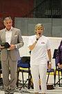 Hry. Kateřina Neumannová zahájila třetí Havlíčkobrodské sportovní hry dětí a mládeže.
